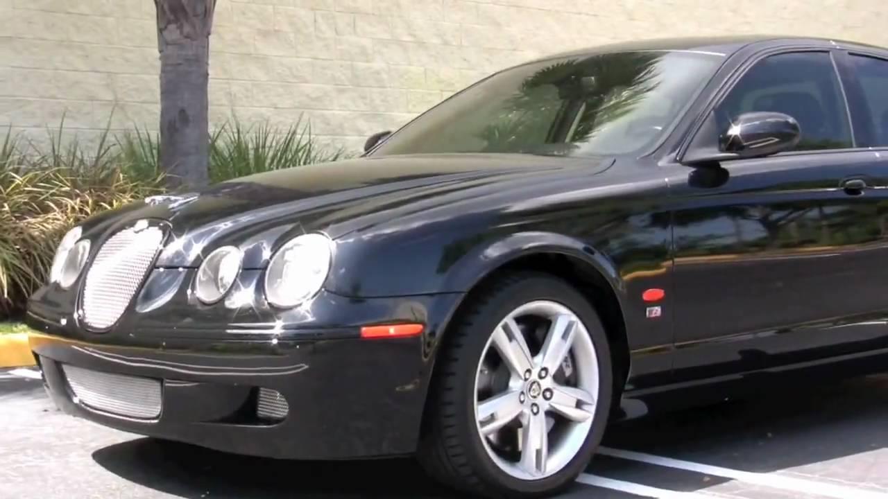 2006 Jaguar s Type r For Sale 2006 Jaguar s Type r Black