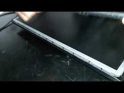Como desmontar monitor HP