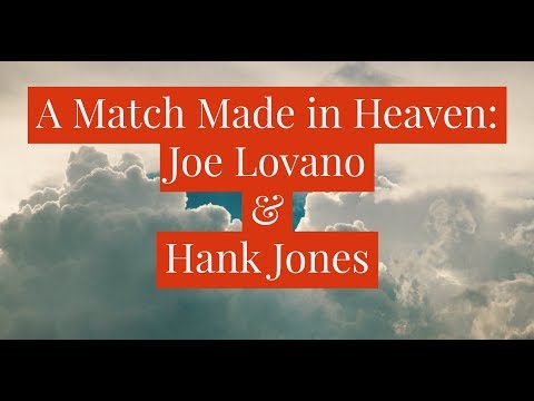 Joe Lovano and Hank Jones