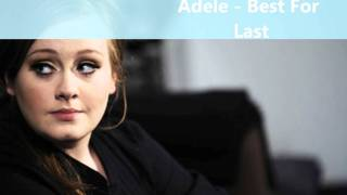 Watch Adele Best For Last video
