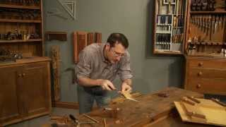 How to reinforce a Miter Joint using a Butterfly Key - 04