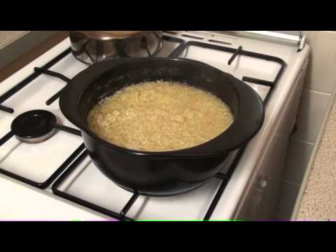 The Healthiest Cookware: Ceramcor Xtrema Saucepot - Cooking Quinoa (super-food)  (HD-720p)