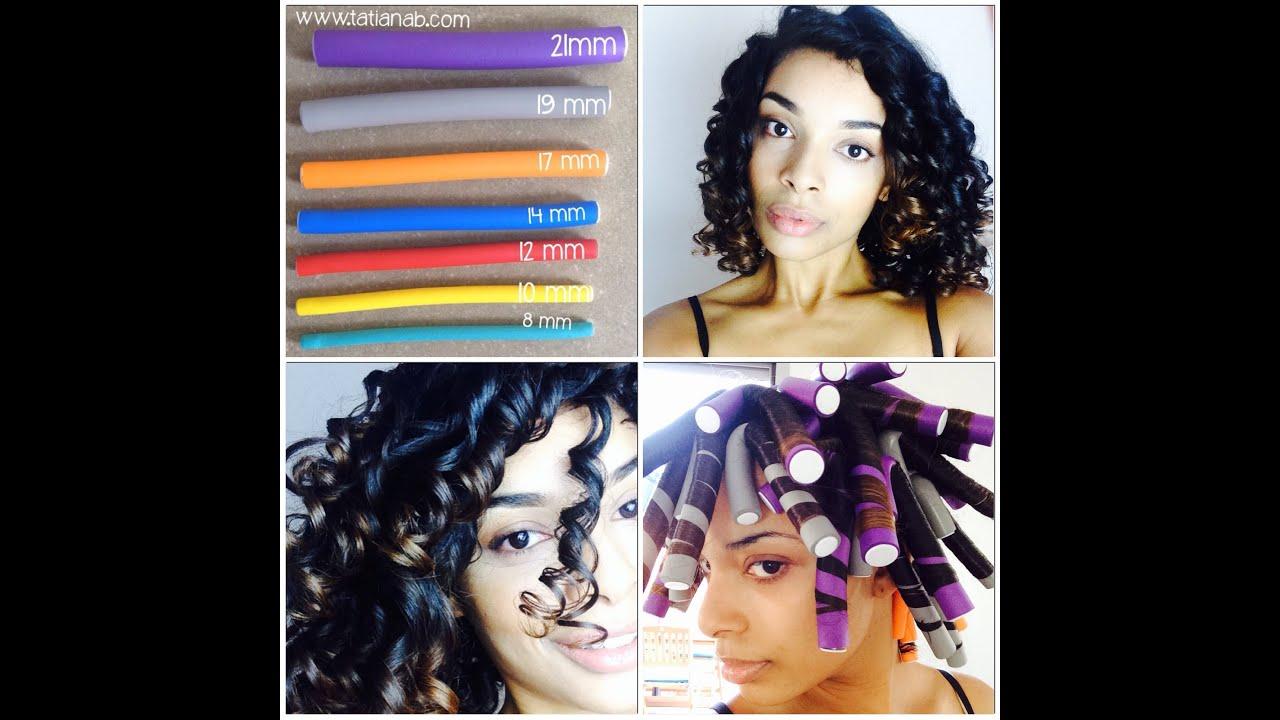 Comment Avoir Des Boucles Flexi Curly By TatianaB YouTube