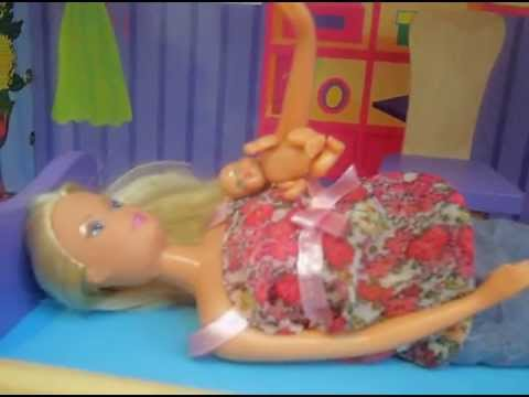 Barbie Gives Birth - YouTube