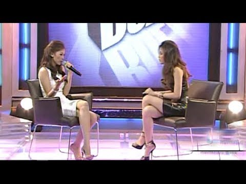Toni and Alex Gonzaga face off on 'The Buzz'