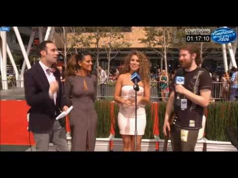 Haley Reinhart and Casey Abrams: Moanin' at Idol Finale Pre-Show