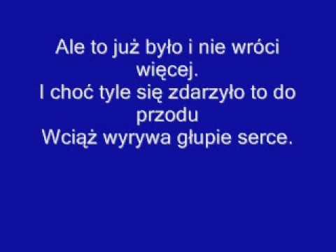 Maryla Rodowicz - Ale To Już Było (karaoke).wmv