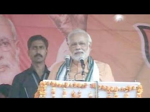 In Meira Kumar's Sasaram, Narendra Modi focuses on lack of development