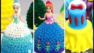 10 Amazing Princess Dolls Dress Mini Cakes