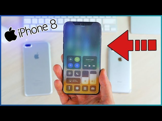 iPhone 8 Hands-On Mockup!