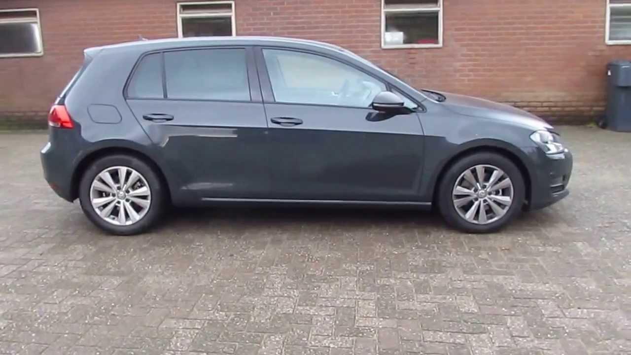 Tiguan Gris Indium >> Volkswagen Golf 7 Urano Grey - YouTube