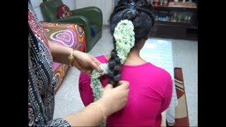 A Braid hairstyle with 2 looks. Hairstyle for Weddings// Receptions// Functions//