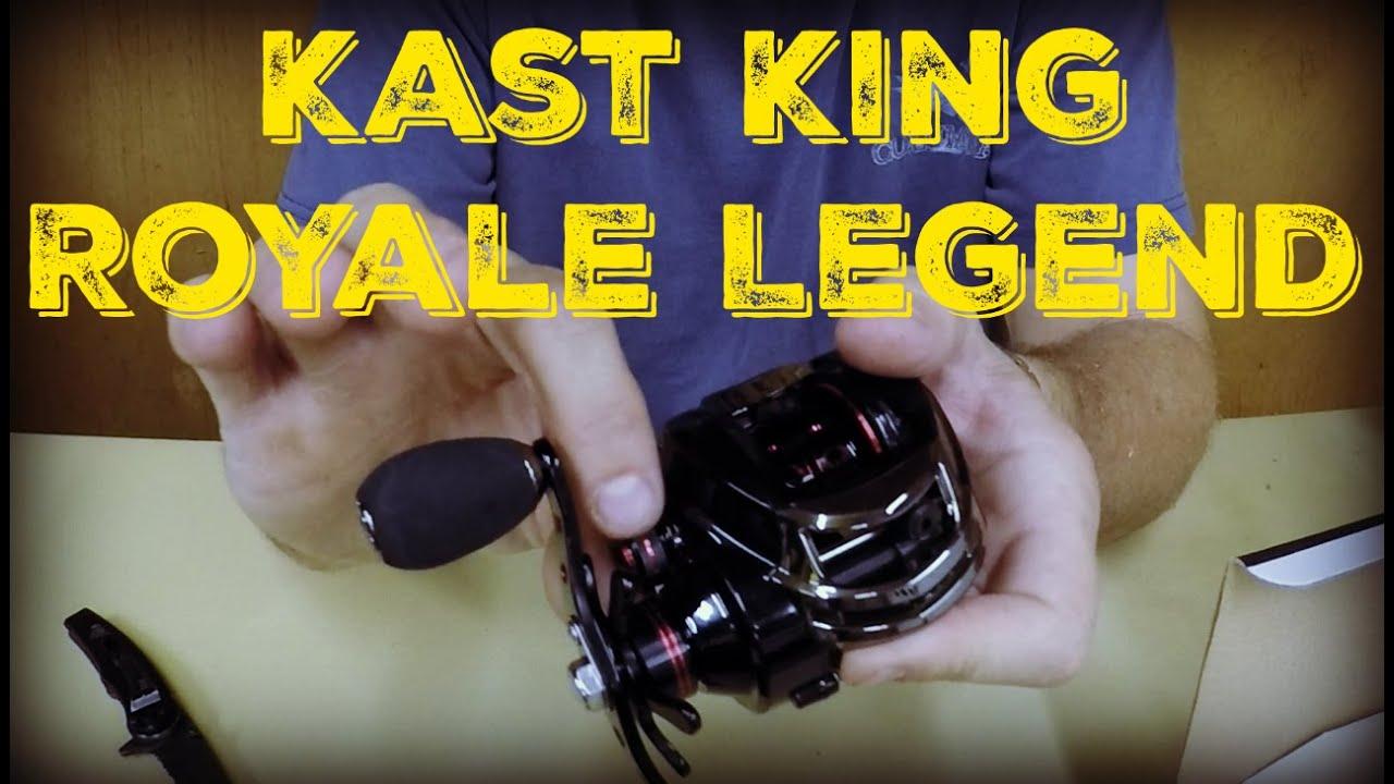 Kast King Royale Legend Reel Unboxing  amp  First Impressions