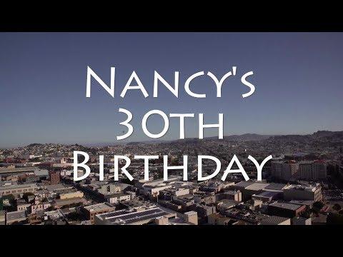 Nancys 30th Birthday Party