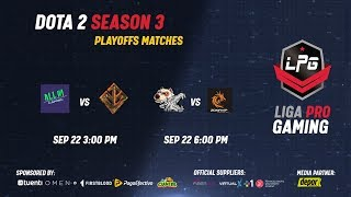 All in Gaming vs Olympus Gods | Playoffs LPG Season 3 | Mstco & Lucky