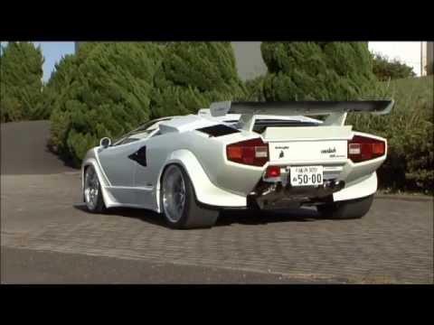 Custom Lamborghini Countach Youtube