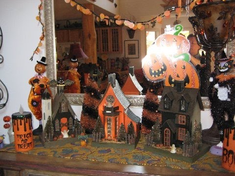 Awesome indoor halloween decorations part 1 youtube for How to decorate your house for halloween inside
