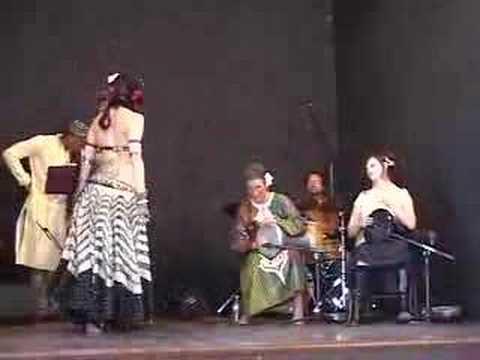 Mary Ellen Plays for Rachel Brice