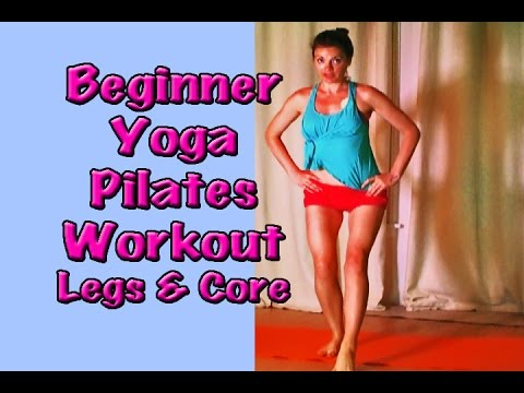 Beginner Pilates Workout Yoga Fusion Full Body Legs Core Weight Loss