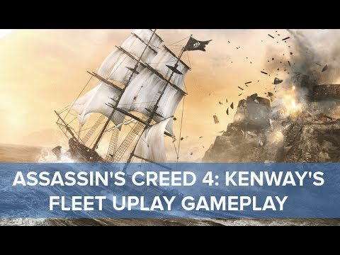 Assassin's Creed 4 - Kenway's Fleet Exclusive Uplay Gameplay - Eurogamer