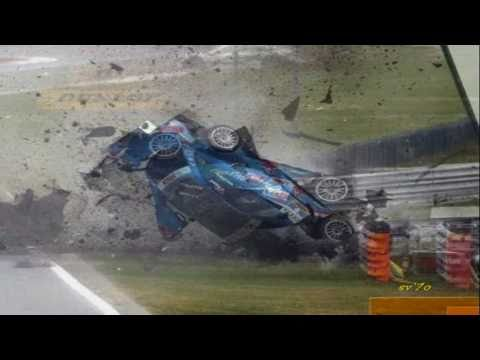 DTM Crash - Alexandre Prémat - Horror Crash (DTM Adria 2010)