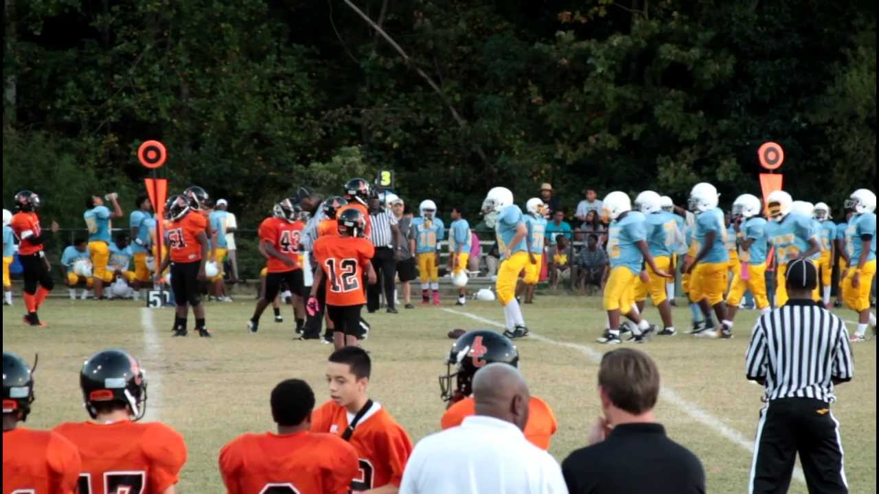 Fort Patriots Vs Aaron Cohn Bulldogs Youtube
