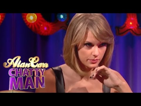 Taylor Swift Is Terrified Her '1989' Album Will Be Pirated - Alan Carr: Chatty Man