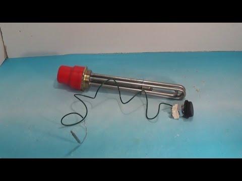 Как расключить тэн водонагревателя и установить терморегулятор