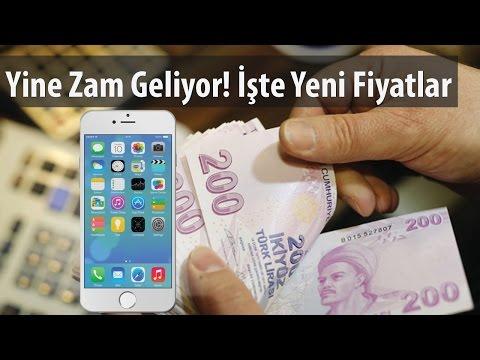 Teknoloji Videoları - Telefonlara Yeni Vergi! iPhone'a 280 TL Zam!