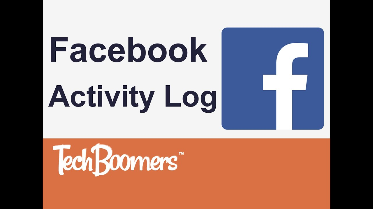 Facebook Activity Log - YouTube