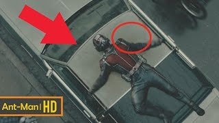 10 Hidden Mistakes You Missed in Ant Man Movie | Ant Man Movie Mistakes