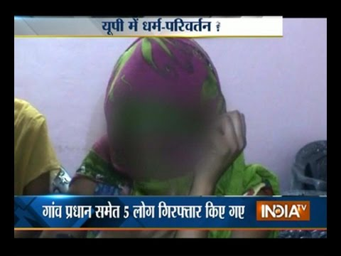 India TV News :Crime :: Woman Gang-raped in  Meerut, Forced to convert