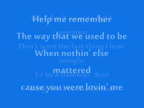 Rascal Flatts - Help Me Remember