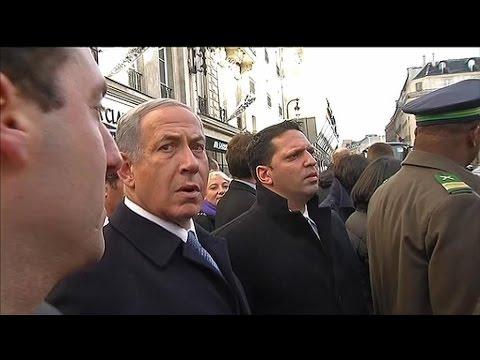 Marche républicaine: quand Benjamin Netanyahu doit attendre le bus
