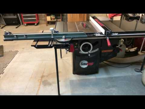 Saw Stop Sliding Table