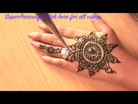 How to Make HENNA DESIGN MEHNDI FOR EID LEARN INDIAN PAKISTANI...