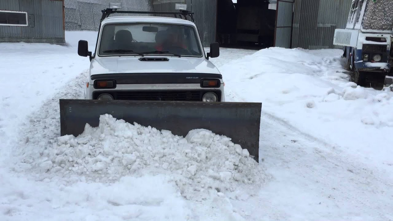 Отвал для снега 91
