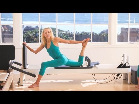 Pilates Reformer Workout with Elizabeth Larkam