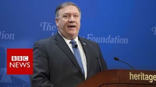 US vows 'strongest sanctions in history' on Iran - BBC News