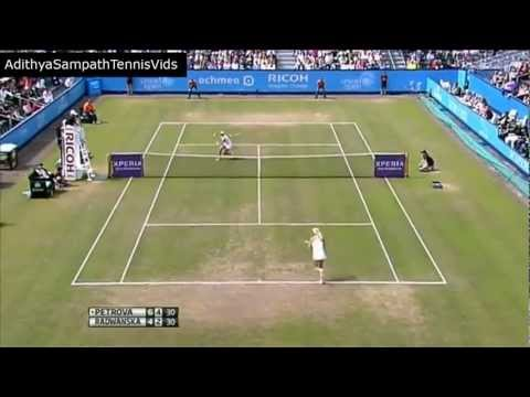 Petrova vs Radwanska 2012 's-Hertogenbosch Highlights