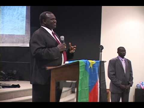 Dr Riek Machar's visited Nebraska in Oct 2012