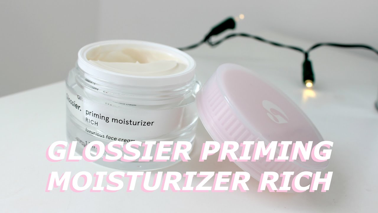 Glossier Priming Moisturizer Rich Review: It Is, In a Word,Golden
