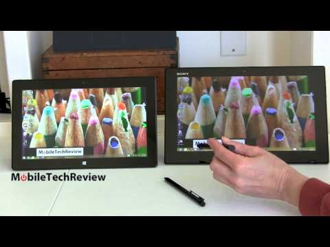 Sony VAIO Tap 11 vs. Microsoft Surface Pro 2 Comparison Smackdown