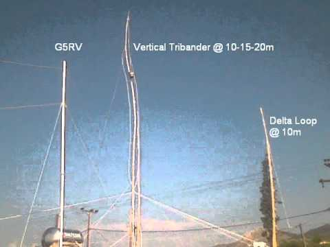 Amateur Radio Antennas of SV8/SV1CDY