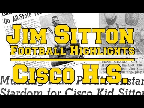 2012-12-25 Jim Sitton Football Highlights - Cisco High School