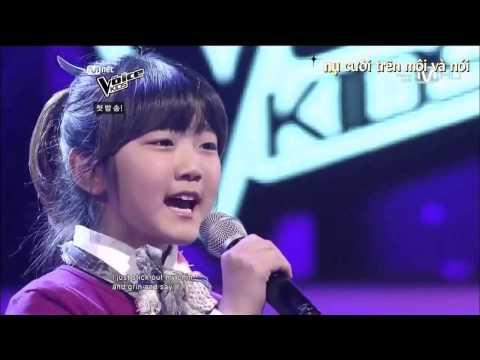 Increíble voz de niña Coreana - Tomorrow