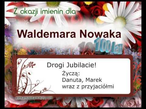 Piosenka Z Imieniem Waldemar Na Imieniny