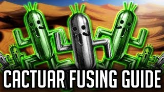 DO NOT Fuse All Cactuar At Once!  Cactuar Fusing Guide - [FFBE] Final Fantasy Brave Exvius