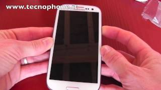 Video Unboxing Samsung Galaxy S III by tecnophone.it ( Versione Italia - Wind)