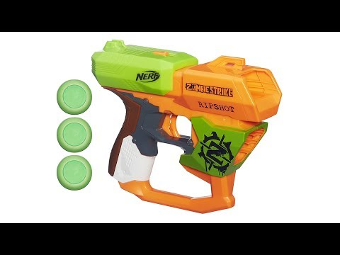 Nerf Zombie Strike Ripshot Unboxing and Review